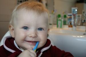 Barn bostar mjölktänder